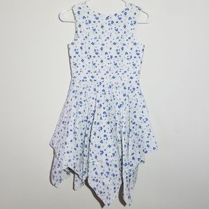 Gap Floral Multi Layer Dress L 10